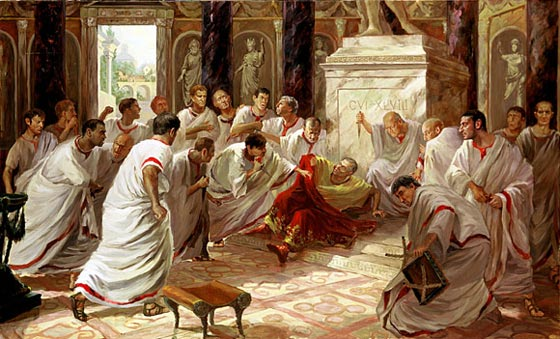 Image result for the death of caesar