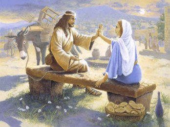 Jesus and Mary Magdalene