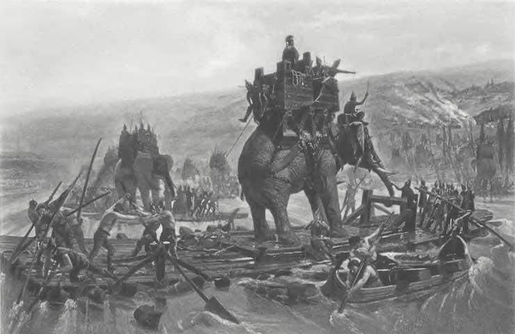 Ashoka  Battle Elephants