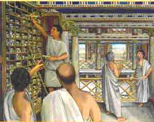 What caused the destruction of ancient library of alexandria annoyz view - La casa alexandria ...