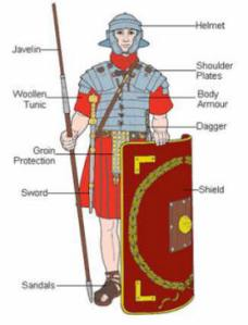 What language did the Romans soldiers and Pilate speak