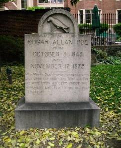 Edgar Allan Poe's Grave in Blatimore