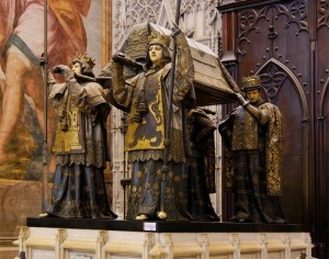 Columbus Tomb in Seville