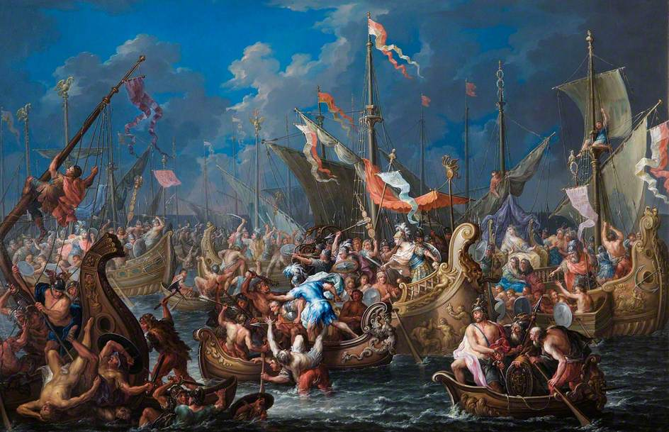battle of actium essay The battle of actium farina, lucy a3 hustwit the battle of actium the battle of actium was a battle that took place during the time of the roman civil war (32-30 bc) between marc antony and octavian this was fought on the day of september 2, 31bc in the ionian sea, more specifically in the gulf of ambracia.