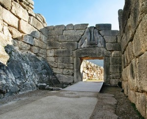 Mycenaean Palace Entry