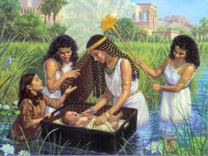 Queen Hatsheput Mother of Moses