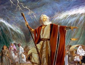 Moses during Exodus