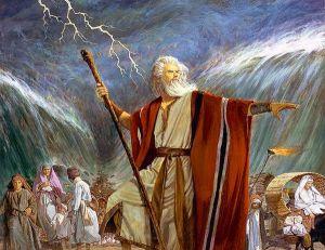 Moses during Exodus