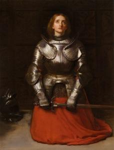 Portrait of Warrior Joan of Arc