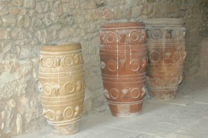 Minoan Pottery in Crete