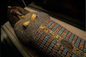 Nefertiti Images in Sarcophagus