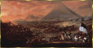 Napoleonic  Battle of Pyramids