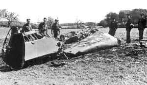 Hess Plane Wreckage