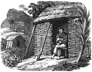 Alexander Selkirk reading Bible