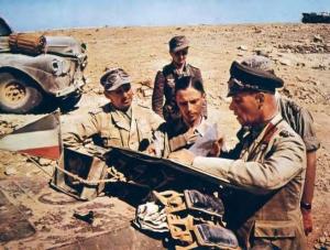 Erwin Rommel in Afrika Korps