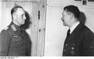 Rommel and Hitler