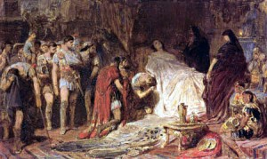 Alexander died on the voyage back home