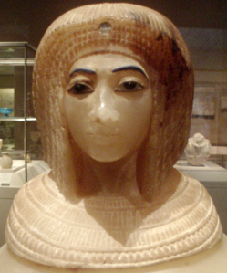 Canopic Jar with Effigy of Queen Kiya