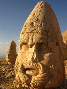 God Statue at Mount Nemrut