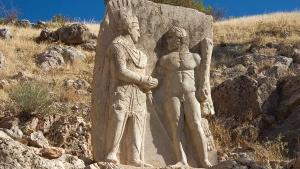 King Antiochus Statue