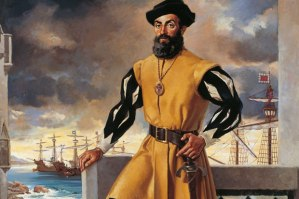 Portrait of Ferdinand Magellan