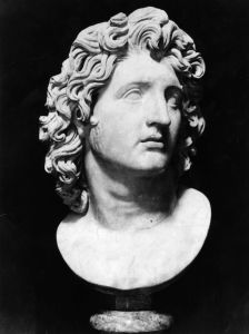Sculpture of Alexander The Great