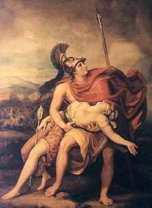Achilles& Penthesilea