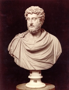 Bust of Roman Emperor Commodus