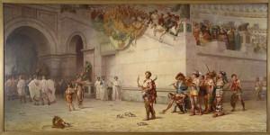 Commodus in Gladiator Arena