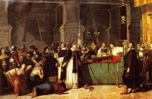 Funeral of Atahualpa