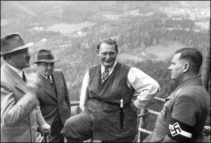 Hitler, Goering and Bormann