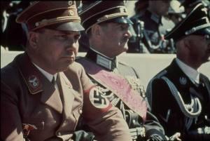 Martin Bormann during a Nazi Parade