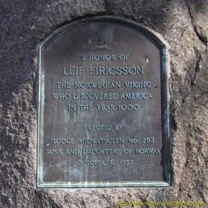 Memorial of Leif Eriksson